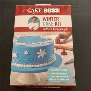 NEW Cake Boss Winter Cake Decorating Kit